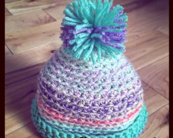 Hand Made Baby Crochet Hat (Toque)