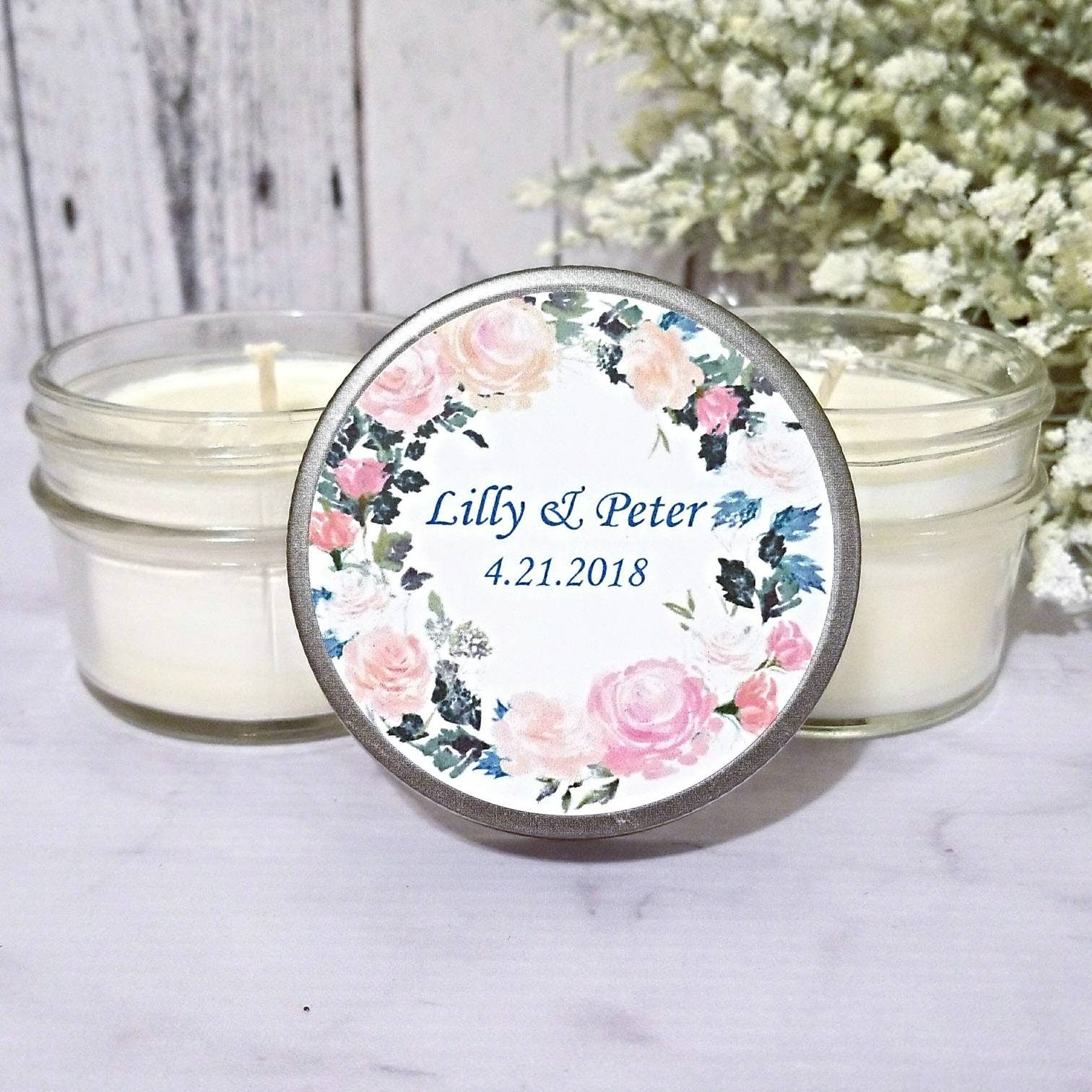 Wedding Favors Candle - Wedding Party Favors - Summer Wedding Favors ...