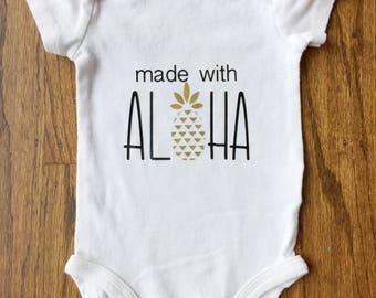 Hawaii Baby bodysuit | Hawaiian baby | Hawaiian baby gift | Hawaii baby shirt