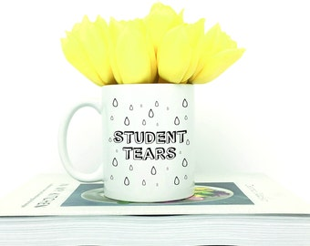Tears Of My Students, English Teacher, Preschool Teacher, Student Tears Mug, Teacher Mug, Funny Teacher Mug, Mug For Teacher, Teacher Gift