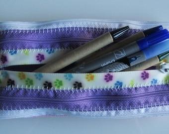 Pencil-pencil-spring bag-case