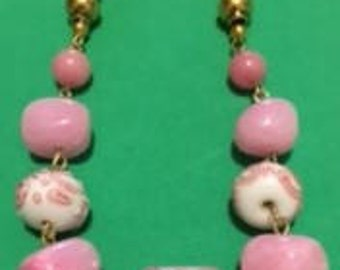 Bubblegum Pink Necklace Set