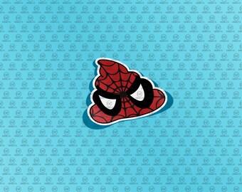 SPIDER-MAN Poop Emoji for Vinyl Cutters - Digital Download -svg - svg files - eps -
