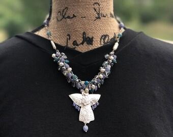 Garden Angel Necklace