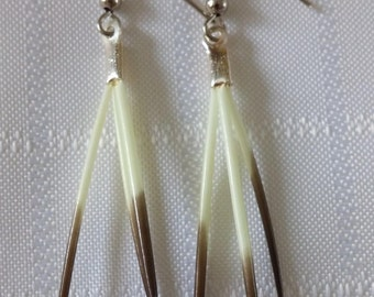 Handmade Porcupine Quill Earrings