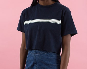 Tommy Hilfiger, 90s Tommy Hilfiger, 90s Crop Top, 90s Clothes, Navy Blue, 90s Sports, 90s Croptop, 90s Shirt, Graphic Tee, Crop Tshirt, 90s