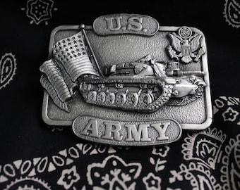 Vintage Belt Buckle - US Army (1970s)