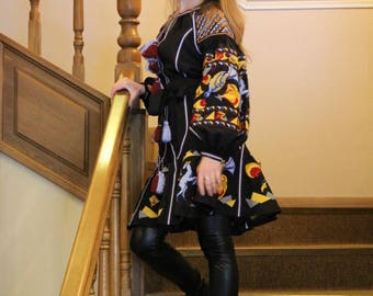 Vyshyvanka Dress Ukrainian Embroidery Bohemian Clothes Mexican Clothing Gift Embroidered dresses Vishivanka Ethnic Ukraine Modern Style