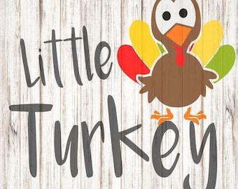 Little Turkey SVG, Turkey SVG, Thanksgiving SVG