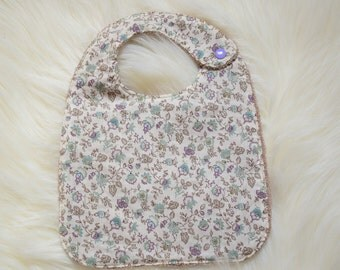 Baby bib Terry/cotton fabric