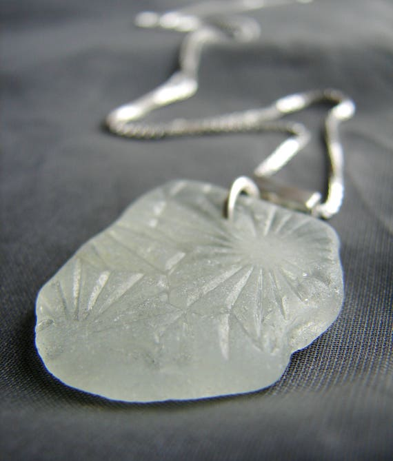 Victorian Sea Glass Necklace