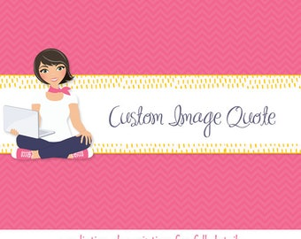 Bespoke quote for a custom clip art, made to order digital illustration, your own custom character designed to spec (M05)