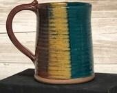 Stoneware Pottery Coffee Tea Stein/Mug 16oz