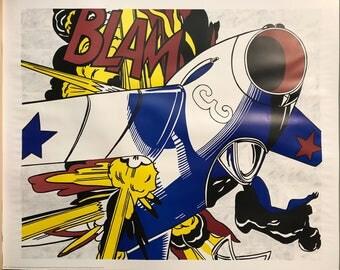 Roy Lichtenstein Etsy