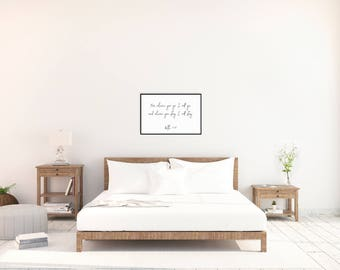 Printable Wall Art – Where you go I will go, where you stay I will stay – Ruth 1 16 – Poster – 24x36 – Bedroom Decor – Newlywed Gift –