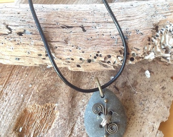 Natural Stone Necklace Handmade