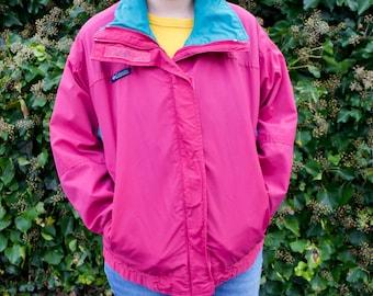 Vintage 90s Columbia Colorblock Bugaboo Pastel Ski Jacket