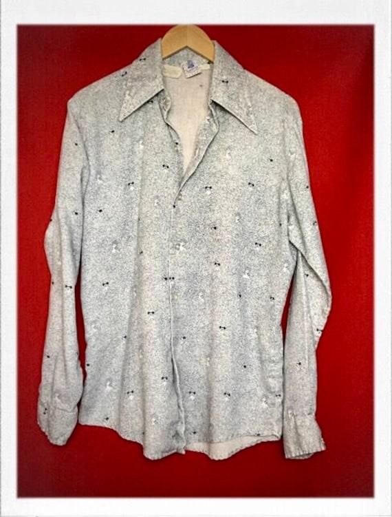 Vintage Rare Men's Kennington Mickey Mouse Shirt