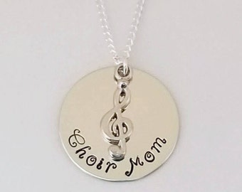 Choir Mom necklace-