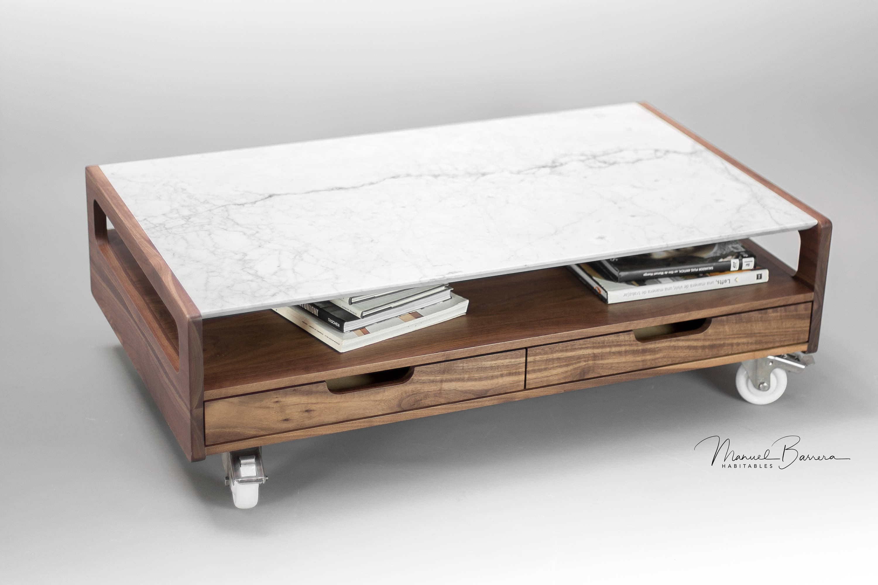 Marble Coffee table center table living room table made of