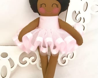 Cloth Baby Doll, Fabric Doll, Baby Girl Gift, Handmade baby doll