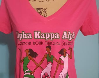 AKA Sorority Common Bond Afrocentric Tee