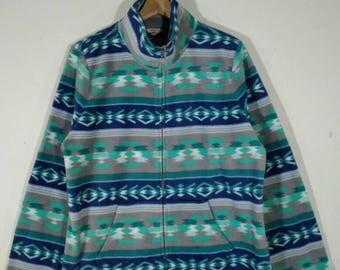SONOMA Fleece Full Zip Fleece Aztec Warm Jacket Sweater   Jacket   Size XL