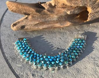 Swarovski Crystal Handcrafted Ladies Bracelet