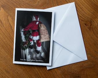 Christmas Card - Father Christmas Original Photography
