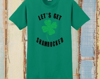 ST PATRICKS DAY, Custom T-Shirt, St Pattys Day, Personalized T-Shirt, Saint Patrick, Irish Shirt, Irish, Shamrock, Drinking Shirt, Drinking