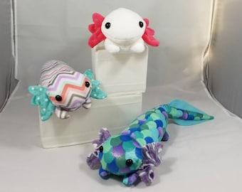 Axolotl Shoulder Pet