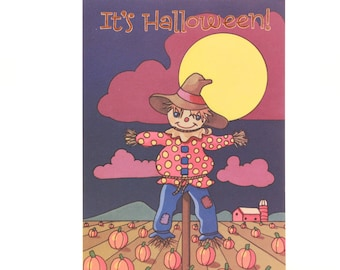 New/Old Stock- Magic Moments-Halloween Card