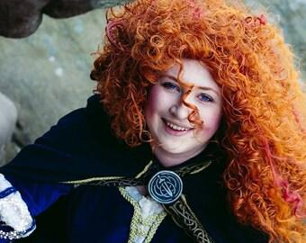 Movie Inspired Merida Wig