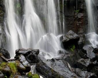 Photo print 'Waterfall in Aros Park'