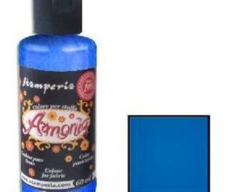 Armonia 60 ml - blue fabric paint
