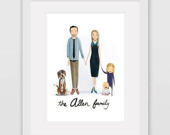 Custom Family Portrait (Friends / Family Discount)