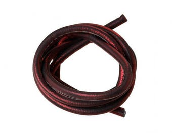 1 m cord 5mm bright red