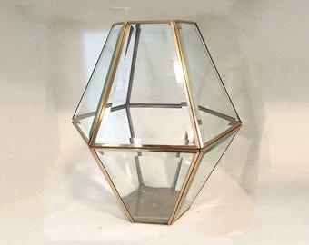Diamond Wedding Card Holder, Terrarium, Light, candle holder