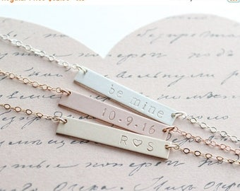 ON SALE Valentines Gift for Wife / Personalized Necklace for Best Friend, Girlfriend, Mom, Daughter, Sister / Gifts under 50 / Gifts for Her