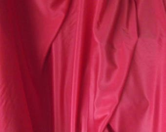Hot Pink Fushia Crepe de Chine Fabric
