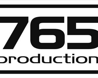 Idolmaster Idolm@ster 765 Production logo decal sticker