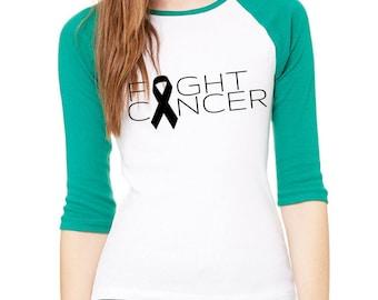 Fight Cancer Baseball Tee