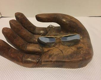 Giant Folk Art Wooden Hand Carved Hand