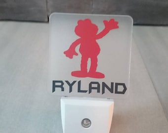 Personalized LED night light