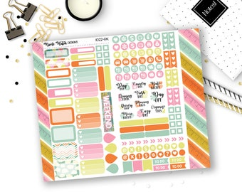 1022-PK // PERSONAL Trifold Insert Sticker Kit // Full Potential Collection // Planner Stickers