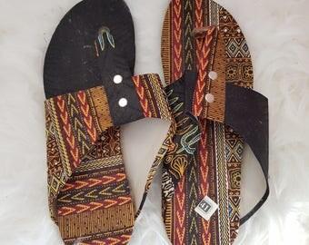 Flip flops dashiki size 41