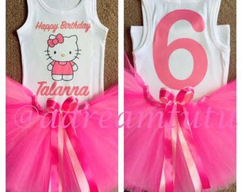 Pretty In Pink Hello Kitty Tutu Combo