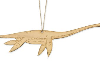 Elasmosaurus Christmas Ornament