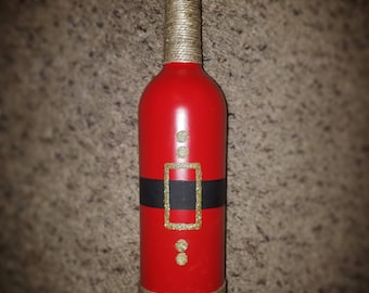 Santa Claus Wine Bottle