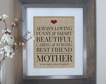 Gift for Mom | Birthday Gift for Mother | Gift for Mothers Day | Gift Mom Gift | Mothers Day Gift | Mothers Day from Daughter